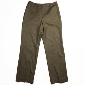 Brooks Brothers women's pants in brown. Size 10